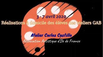 Book Atelier@Maison Vol. 1 avec Carlos Castillo <<Regardez la ViDéO<<