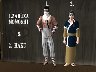 You will need Bon Voyage for Haku`s Kimono to show up !