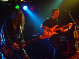 Live mit der Marc Reece Band, Helden, Niederlande 2002