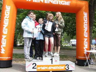 Bernoulligymnasium: 2.Platz Aquathlon Teamwertung (Jugend C)