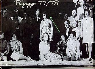 Bajazzo, Szenenfoto (modern)
