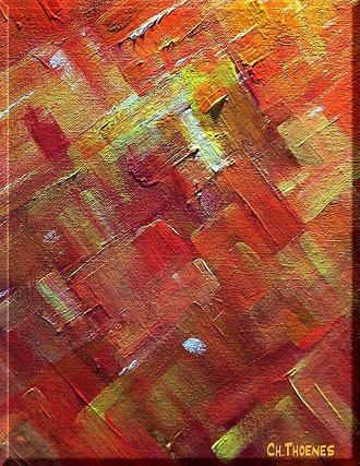 Wueste, Bilder, selbst gemalt, christel Thoenes