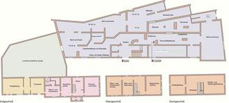 Lageplan des Museums