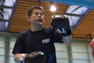 ワイルド田中さんの闘志あふれる勇士