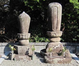 茨木安威の殿様のお墓