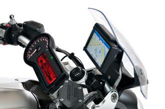BMW R 1200 R, Navigation, Umbau, Navigator V