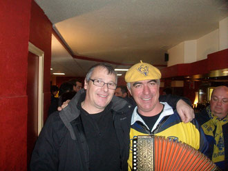 Une rencontre  sympa avec Jean Luc Echassoux qui marie la musique avec l'humour comme personne