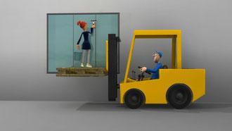 """Napo in: """"trasporti sicuri"""", video prodotto dall'agenzia europea per la sicurezza sul lavoro - per l'Italia Inail"""