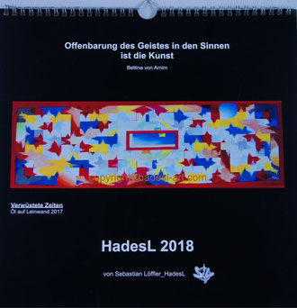 """Kalender 2018"" von Sebastian Löffler_HadesL"