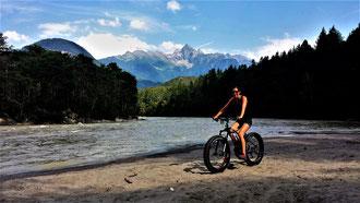 Bike auf Sand