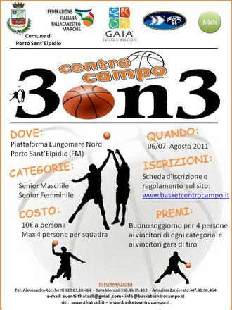 torneo 3vs3 a Porto Sant'Elpidio (FM)