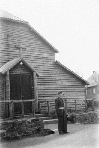 Rocherath 1952 :  vor der Notkirche