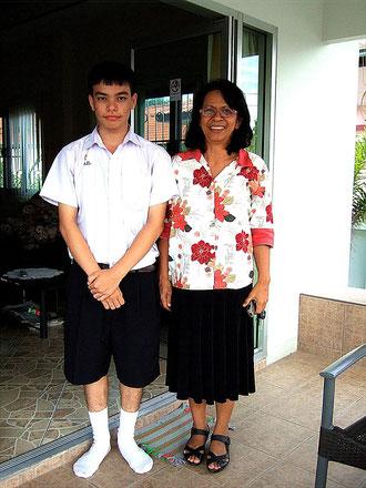 Besuch: Ton seiner Lehrerin