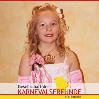 Kinderprinzessin 2009/2010: Lysann I.