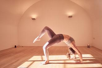 Yoga im Kapuzienerkloster Feldkirch