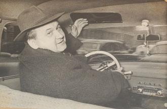 Советский журналист Евгений Иванович Рябчиков, друг Николая Алексеевича.