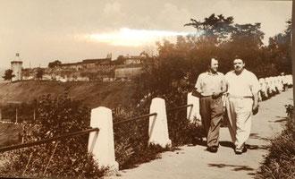 Фотограф Иван Терехин - Соколов (слева), Середина 1950-х годов