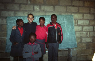 8th grade English class in South Africa, 2006