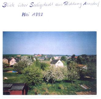 Bild: Seeligstadt Chronik 1992