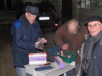 20 février 2013:démontage de lits à l'hôpital de Voiron