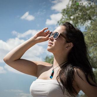 Holzbrillen sind immer eine gute Wahl!