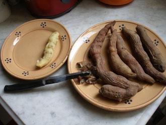 patate zuccherine mignon biologiche
