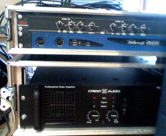 Rack Digam Powersoft Crest Audio