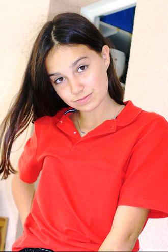 Charlotte, élève de 5e au collège Gaston Flamant de Marcheprime