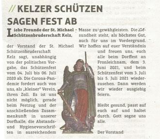 Mitteilungsblatt Gemeinde Vettweiß vom 14.06.2020