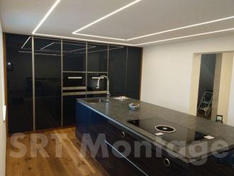 Wandverbau und Möbelmontage - SRT Montage Salzburg