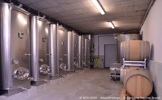 Cave de vinification et d'élevage des vins