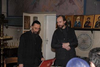Vater Igor berichtet über seine Erfahrungen mit dem Kloster