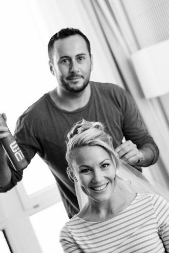 Brautstyling Wandelbar Make-Up München und Erhan Dogru