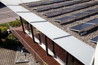 Bild: Link zur Übersicht der momentanen Leistung der Photovoltaikanlage