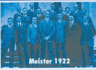 Deutscher Meister 1922