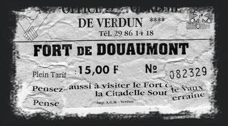 Rene Reuter Verdunbilder Verdun Fort Douaumont