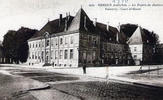Gerichtsgebäude und Unterpräfektur - Ehemaliges Kloster St. Paul 1915