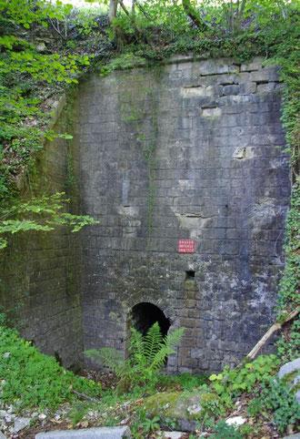 Depot intermediaire sous roc