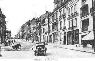 Rue Saint-Pierre vor dem Krieg...