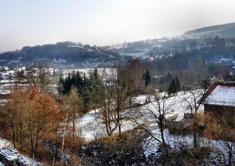 winterlicher Blick auf Rieneck
