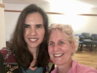 Meine Lehrerin Kristin Neff (links) in 2017