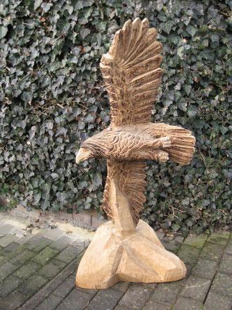 fliegender Adler (Eiche 100cm)
