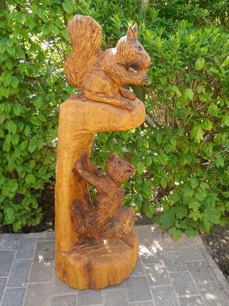 Eichhörnchen aus Robinie