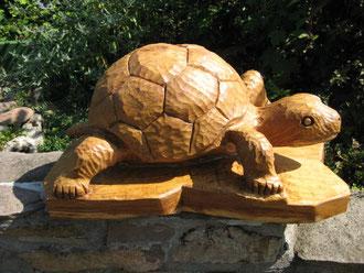 Schildkröte aus Eiche