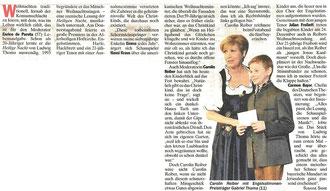 Münchner Weihnachtssingen Heilige Nacht - Festabend 15.12.2011 tz/Kolumne vom 17.12.2011