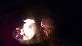Feuer Ritual