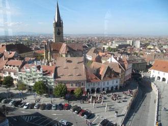 Stadtzentrum Sibiu / Hermannstadt