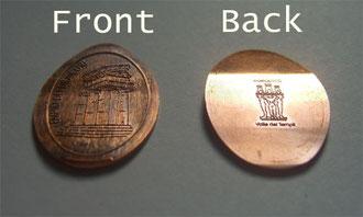 Sommige munten zijn aan beide zijden bedrukt