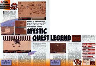 Mystic Quest Legend Total 12\93