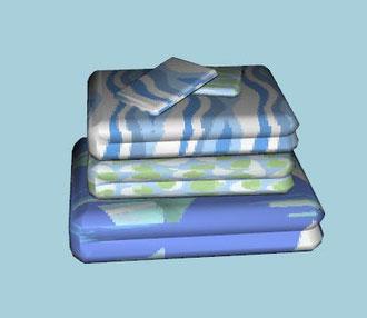 serviettes et gants